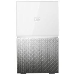 Western Digital - MY CLOUD HOME Duo dispositivo de almacenamiento personal en la nube 6 TB Ethernet Plata Blanco