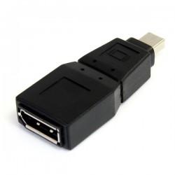 StarTechcom - Adaptador Conversor Mini DisplayPort a DisplayPort - Mini DP Macho - DP Hembra