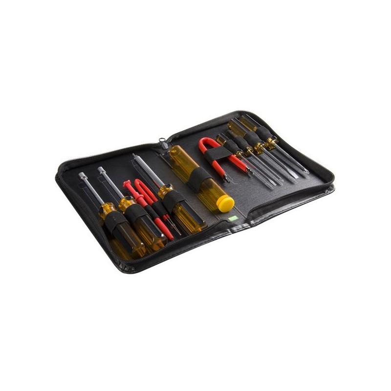 StarTechcom - Juego Kit Set Herramientas Reparacin Ordenadores 11 piezas Estuche- Torx Phillips Plano