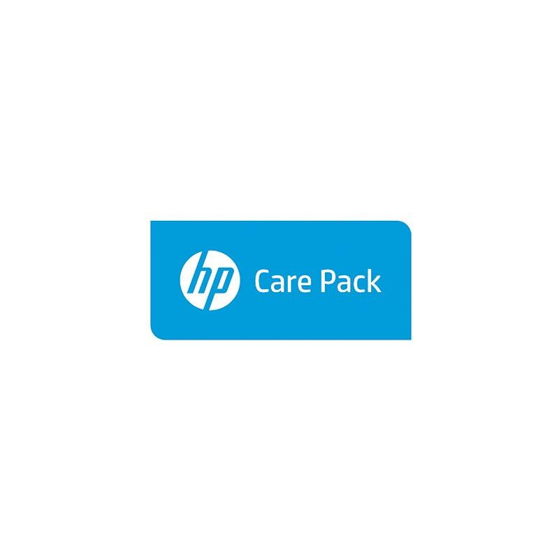 Hewlett Packard Enterprise - Servicio HP 4a intercambio Dls Laserjet Consumer-H