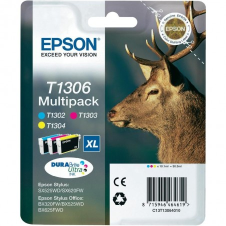 Epson - Stag Multipack T1306 3 colores - C13T13064010
