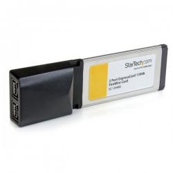 StarTechcom - Adaptador Tarjeta FireWire 800 de 2 Puertos 9 pines ExpressCard/34 34mm 1394b