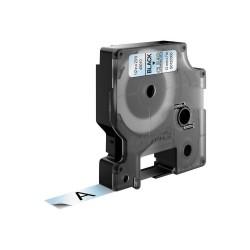 DYMO - D1 - Etiquetas estndar - Negro en claro - 12mm x 7m