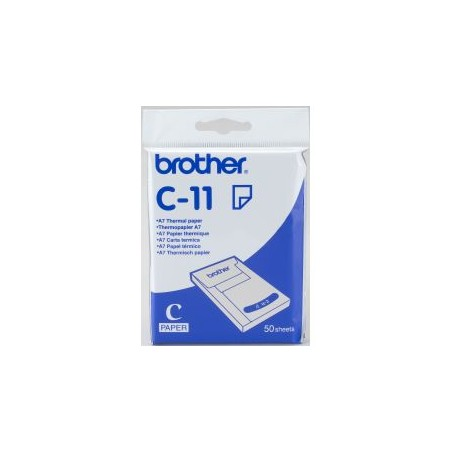 Brother - C-11 papel trmico A7