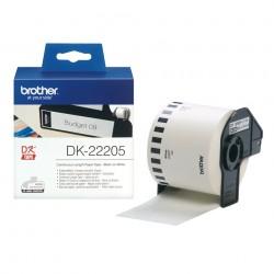 Brother - Cinta continua de papel trmico blanca - DK-22205