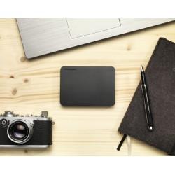 Toshiba - Canvio Basics disco duro externo 1000 GB Negro