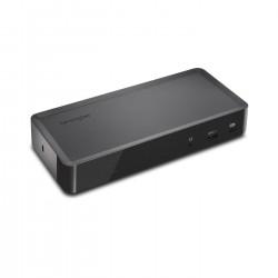 Kensington - Replicador USB-C y USB 30 2K de 5 Gbps doble SD4700P con adaptador 135 W - DP y HDMI - Windows/Mac