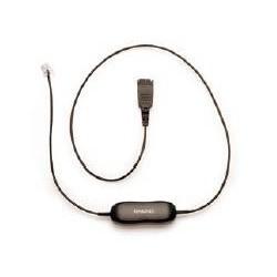 Jabra - QD cord straight mod plug 05 m