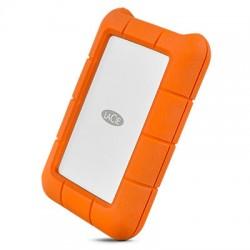 LaCie - Rugged USB-C disco duro externo 2000 GB Naranja Plata