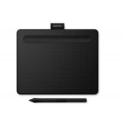 Wacom - Intuos S Bluetooth tableta digitalizadora Negro 2540 lneas por pulgada 152 x 95 mm USB/Bluetooth