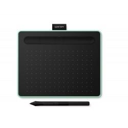 Wacom - Intuos S Bluetooth tableta digitalizadora Verde Negro 2540 lneas por pulgada 152 x 95 mm USB/Bluetooth
