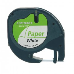 DYMO - S0721510 cinta para impresora de etiquetas Negro sobre blanco