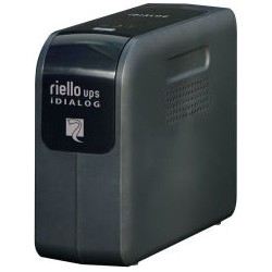Riello - iDialog 800VA 800VA Torre Negro sistema de alimentacin ininterrumpida UPS