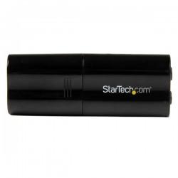 StarTechcom - Tarjeta de Sonido Estreo USB Externa Adaptador Conversor - Negro