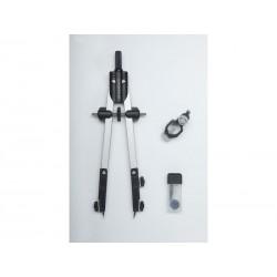 Faber-Castell - FABER CASTELL Comps ajuste rpido con tornillo central y articulaciones en ambos brazos 32722-8