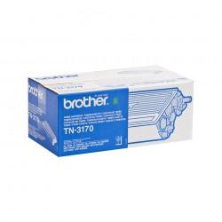 Brother - TN-3170 cartucho de tner Original Negro 1 piezas