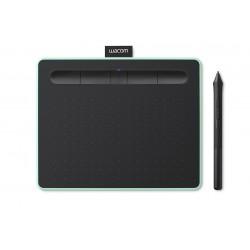 Wacom - Intuos M Bluetooth tableta digitalizadora Negro Verde 2540 lneas por pulgada 216 x 135 mm USB/Bluetooth