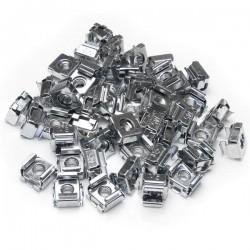 StarTechcom - Paquete de 50 Tuercas Enjauladas Cage Nuts M5