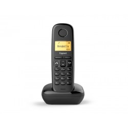 Gigaset - A270 Telfono DECT Negro Identificador de llamadas