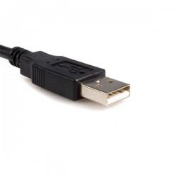 StarTechcom - Cable de 3m Adaptador de Impresora Centronics a USB A