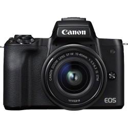 Canon - EOS M50  EF-M 15-45mm IS STM MILC 241 MP CMOS 6000 x 4000 Pixeles Negro