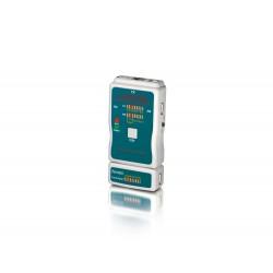 Equip - 129964 comprobador de cables de red Verde Gris