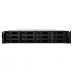 Synology - RackStation RS3618xs D-1521 Ethernet Bastidor 2U Negro NAS
