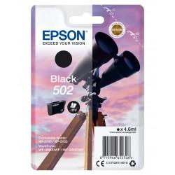 Epson - Singlepack Black 502 Ink - C13T02V14020