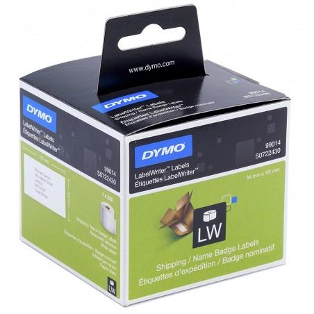 DYMO - LW - Etiquetas para tarjetas de identifi cacin/envos - 54 x 101 mm - S0722430