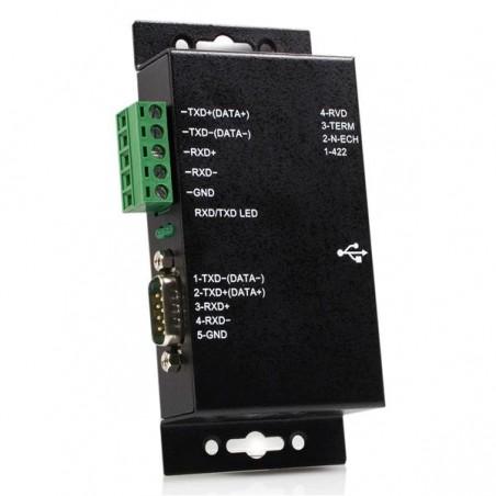 StarTechcom - Adaptador USB a Serie Serial RS422 485 un Puerto DB9 o Bloque de Conexin con Aislamiento