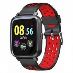 Billow - XS35x Pantalla tctil Bluetooth Negro Rojo reloj deportivo