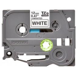 Brother - TZe231 cinta para impresora de etiquetas Negro sobre blanco TZe