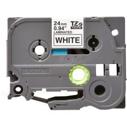 Brother - TZE251 cinta para impresora de etiquetas Negro sobre blanco TZe