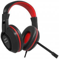 Mars Gaming - MAH1V2 headphones/headset Auriculares Diadema Negro Rojo