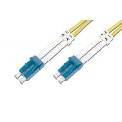 Digitus - DK-2933-01 cable de fibra optica 1 m LC Amarillo