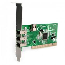 StarTechcom - Adaptador Tarjeta Controladora FireWire 400 PCI 4 Puertos FW 6 Pin Chipset TI - IEEE 1394a