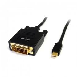 StarTechcom - Cable de 18m Adaptador Grfico Externo Mini DisplayPort a DVI - 1920x1200 - Conversor