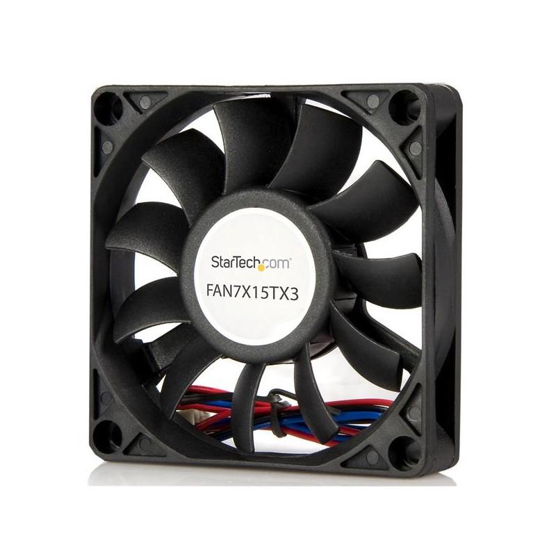 StarTechcom - Ventilador de Repuesto para Disipador de Procesador o Caja Chasis PC - 70mmx15mm - TX3