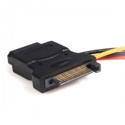 StarTechcom - Adaptador de Cable de Alimentacin SATA a LP4 con 2 LP4 Adicionales