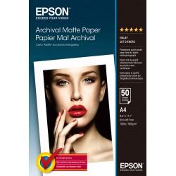 Epson - Archival Matte Paper - A4 - 50 hojas