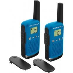 Motorola - TALKABOUT T42 two-way radios 16 canales Negro Azul
