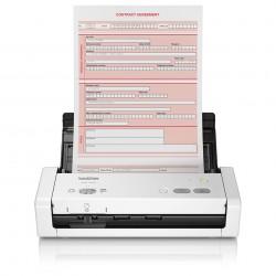 Brother - ADS-1200 escaner Escner con alimentador automtico de documentos ADF 600 x 600 DPI A4 Negro Blanco