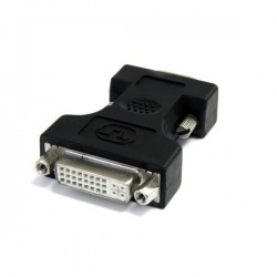 StarTechcom - Adaptador Conversor DVI-I a VGA - DVI-I Hembra - HD15 Macho - Negro