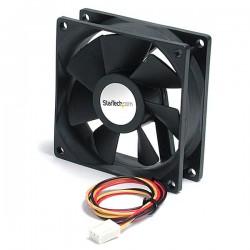 StarTechcom - Ventilador Fan para Chasis Caja de Ordenador PC Torre - 80x25mm - Conector TX3 - FAN9X25TX3L