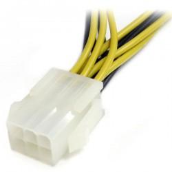 StarTechcom - Cable Divisor de Alimentacin para PCI Express de 6 pulgadas