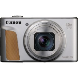 Canon - PowerShot SX740 HS Cmara compacta 203 MP 1/23 CMOS 5184 x 3888 Pixeles Plata