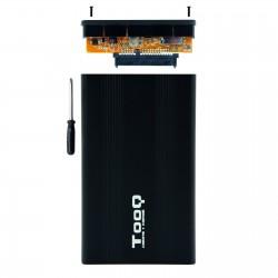 TooQ - CAJA HDD 25 SATA A USB 20 NEGRA