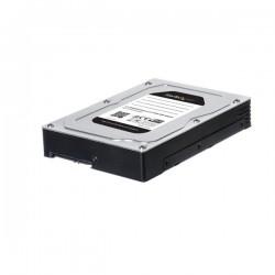 StarTechcom - 25SATSAS35HD panel baha disco duro 889 cm 35 Panel de instalacin Negro Plata