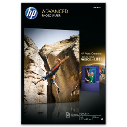HP - Q8697A papel fotogrfico A3 De alto brillo