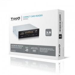 TooQ - LECTOR DE TARJETAS 35 6 SLOTS 1 X USB NEGRO